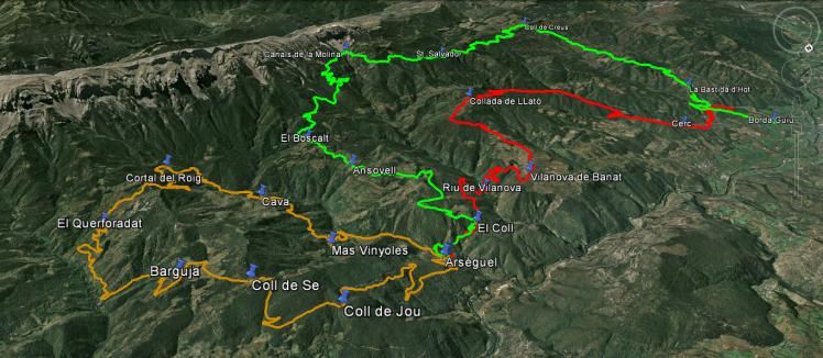 Marxa 3 dies pels boscos i pobles del Cadí nord-occidentals