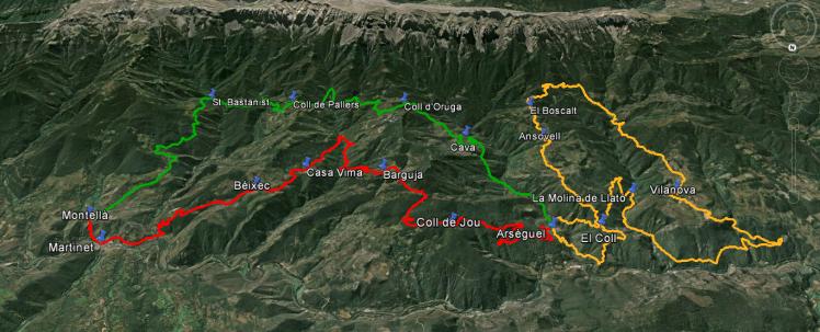 Pels boscos, pobles i ermites del Baridà sud