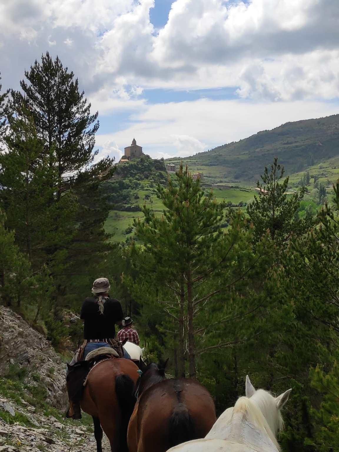 Camí a cavall, Josa de Cadí